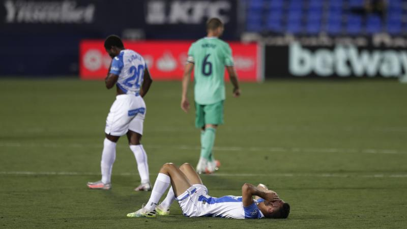 Leganes relegated from LaLiga following draw against champions Real Madrid