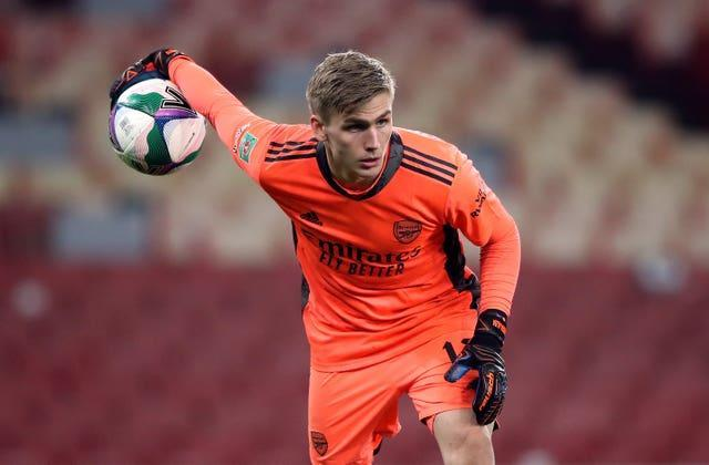 Alex Runarsson is now likely to be relegated to third-choice goalkeeper at Arsenal.