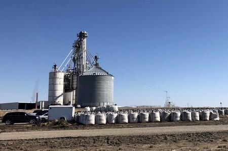 FILE PHOTO: AltEn LLC ethanol plant in Mead Nebraska