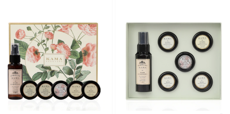 Unisex At Home Facial Gift Set