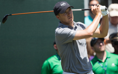 "Defending champion Jordan Spieth downplayed the significance of his score after carding seven-under-par 63 to tie fellow American Zach Johnson for the first-round lead at the Travelers Championship on Thursday. Spieth and Johnson, between them winners of two of the past three British Opens, headed Britain's Rory McIlroy by one stroke as the cream quickly rose to the top on the TPC River Highlands course in Cromwell, Connecticut. Americans Brian Harman and Peter Malnati joined Northern Ireland's McIlroy on 64. U.S. Open champion Brooks Koepka got to five-under after 11 holes but finished poorly with four late bogeys in a 68. ""I just lost a bit of energy there at the end. Still don't really know where I'm at,"" a weary Koepka told reporters. He said he had only slept for about three hours on Sunday night after finally getting back home to Florida just before dawn. ""I'm exhausted mentally. I'm still playing well so I'm not too worried about today."" Travelers Championship round one leaderboard Spieth, buoyed by a 30-foot eagle from a bunker at the par-five sixth, was nearly flawless apart from a bogey at the par-four 15th, where he hooked his tee shot into a pond that was so far left it surprised the group waiting on the nearby 16th tee. The Texan, who made bogey at the 36th hole to miss the cut by one stroke at Shinnecock Hills last week, fared much better on the friendlier confines of TPC Connecticut. But he was not carried away by one good day. ""I wouldn't say it was big or necessary or anything,"" Spieth told Golf Channel, four weeks ahead of defending his Open title at Carnoustie. ""Very positive about making progress from how I got pretty off earlier this year so it's good to see a good score but still a long way to go. Jordan Spieth during the first round Credit: Bill Streicher/USA TODAY Sports ""First rounds have been detrimental to me so it's nice to be in the thick of things."" Spieth has putted poorly for much of the year, but he sounded upbeat about his progress. ""Putter feels great,"" he said. ""I'm seeing my lines better and it's a matter of time I think before it gets to the level I've been at before."" McIlroy, like Spieth, also bowed out after 36 holes at the U.S. Open, and put his unexpected free weekend to good use. ""I've had a little time to practice over the last few days, working on some stuff that stood out the first two days at Shinnecock,"" he said. McIlroy hit 17 greens in regulation on Thursday. The only one he missed was at the par-four 18th, where he slipped while hitting his approach shot that resulted in a poor chip and missed putt for par. Watch the Travelers Championship on Sky Sports from 5.30pm on Friday"