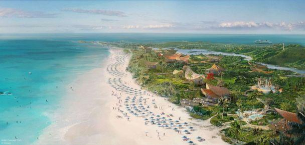 A new Disney port of call will be located on the breathtaking island of Eleuthera at a place called Lighthouse Point. (Disney) (Disney)