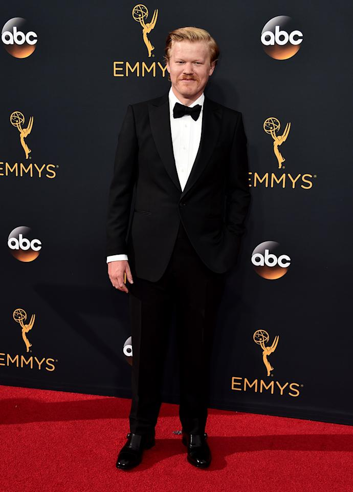 "<p>In an <a rel=""nofollow"" href=""http://www.gq.com/story/jesse-plemons-outsiders-profile"">interview with <em>GQ</em></a>, Plemons opened up about his weight gain for <em>Black Mass</em>. ""Everyone's like, 'You gained all this weight!' I was like, 'No, I've been fat for a while now.' <em>[laughs]</em> Yeah, talking about it, if anything, makes me a little more empathetic — sympathetic? — to what women have to go through. My God! Men in general are just not held under the same microscope in that way,"" Plemons said. ""It's bizarre that that's all people wanted to talk about. Why is that some sort of a badge or some sort of accomplishment? Like, anyone can do that. You just have to eat s***."" (Photo: Getty Images) </p>"