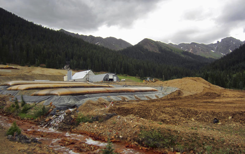 Barrier put in mine that sent toxic water into 3 states
