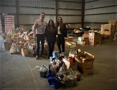 Prestige Business Solutions food drive benefits United Against Poverty
