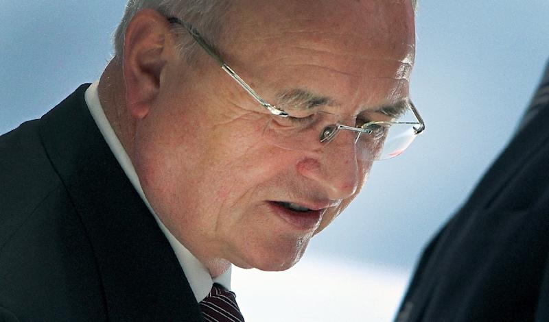 Volkswagen chief executive Martin Winterkorn has headed the German auto giant since 2007 (AFP Photo/Daniel Roland)