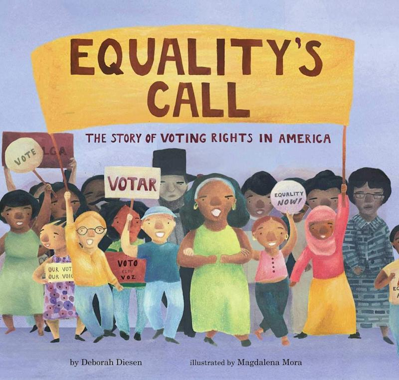 """""""Equality's Call"""" recalls the history of voting rights in the U.S. from the time of the Founding Fathers to the present. <i>(Available <a href=""""https://www.amazon.com/Equalitys-Call-Voting-Rights-America/dp/1534439587"""" target=""""_blank"""" rel=""""noopener noreferrer"""">here</a>)</i>"""