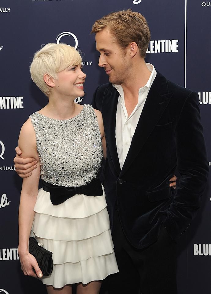"<a href=""http://movies.yahoo.com/movie/contributor/1800018861"">Michelle Williams</a> and <a href=""http://movies.yahoo.com/movie/contributor/1804035474"">Ryan Gosling</a> attend the New York premiere of <a href=""http://movies.yahoo.com/movie/1809945752/info"">Blue Valentine</a> on December 7, 2010."