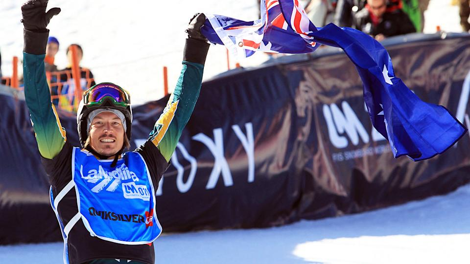 Alex Pullin, pictured here at the FIS Snowboard World Championships in 2011.