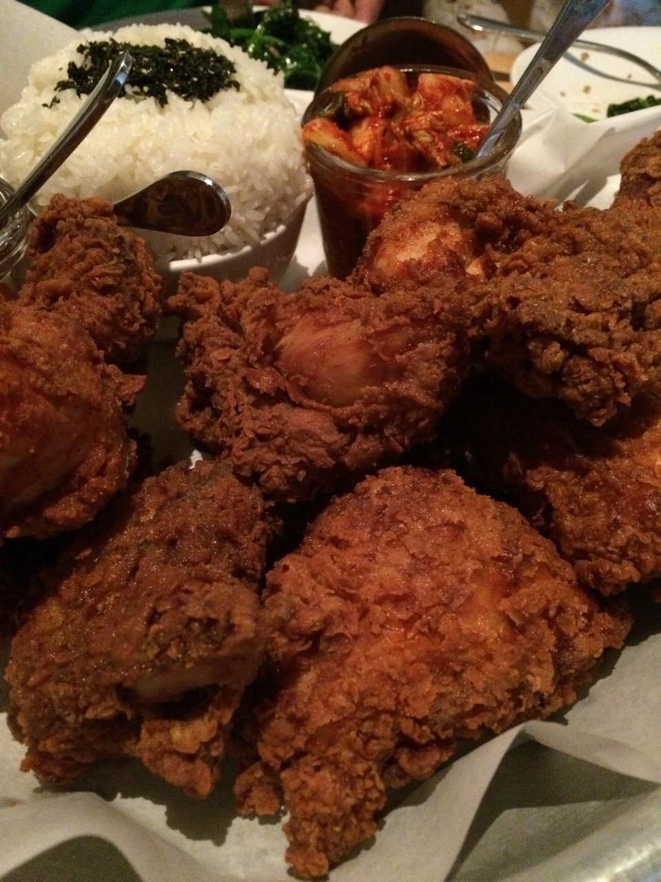"""<p><a href=""""https://www.tripadvisor.com/Restaurant_Review-g60878-d1076628-Reviews-Ma_ono_Fried_Chicken_Whisky-Seattle_Washington.html"""" rel=""""nofollow noopener"""" target=""""_blank"""" data-ylk=""""slk:Ma'ono Fried Chicken & Whisky"""" class=""""link rapid-noclick-resp"""">Ma'ono Fried Chicken & Whisky</a>, Seattle</p><p>Amazing Hawaiian restaurant. Chic in style. You must do their signature Fried Chicken family style with the wood roasted corn and curry and bacon fried rice.<span class=""""redactor-invisible-space""""> - Foursquare user <a href=""""https://foursquare.com/bgutnik"""" rel=""""nofollow noopener"""" target=""""_blank"""" data-ylk=""""slk:Ben Gutnik"""" class=""""link rapid-noclick-resp"""">Ben Gutnik</a></span><br></p>"""