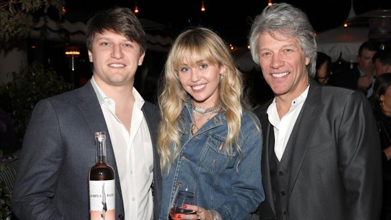 Star Sightings: Miley Cyrus Attends Jon Bon Jovi's Wine Launch in L.A., Kristen Bell Gets 'Lazy' & More!