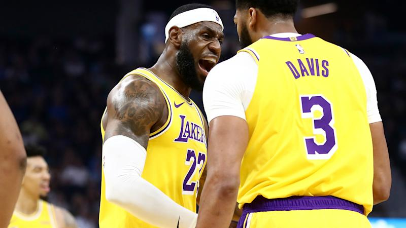 Lakers' LeBron James excited for opening night
