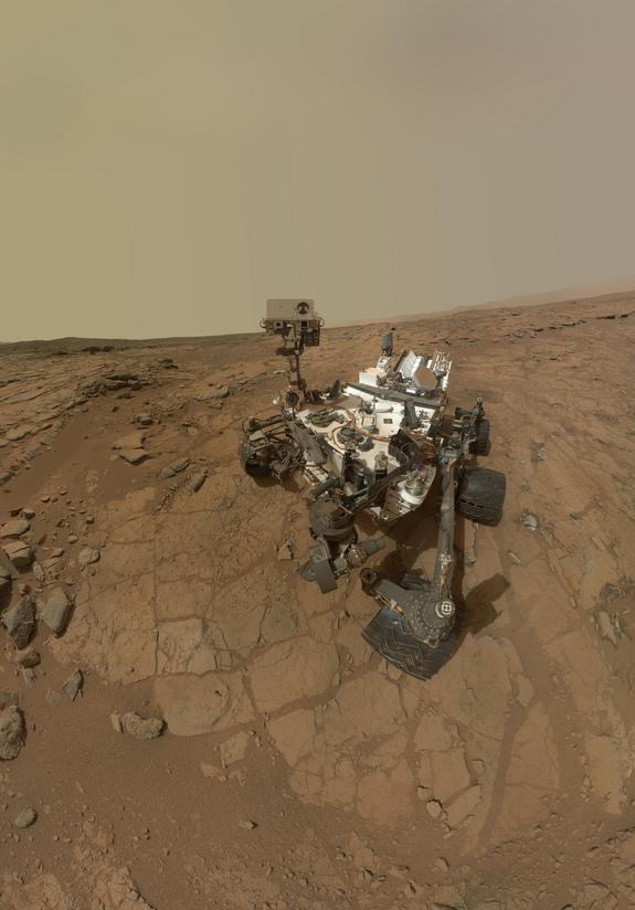 NASA Puts Mars Rover Curiosity on Standby After Solar Flare