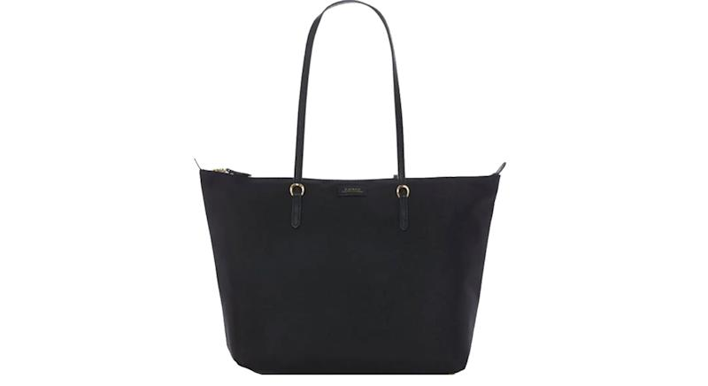 Lauren By Ralph Lauren Canvas Keaton Tote Bag