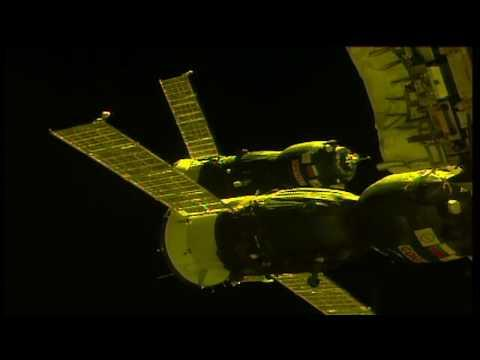 """<p>The Russian <span class=""""caps"""">ISS</span> Progress 68 cargo craft arrived at the International Space Station on Monday, October 16, carrying almost three tons of food, fuel and supplies for the Expedition 53 crew.</p><p>Progress began its two-day journey from the Baikonur Cosmodrome in Kazakhstan, <a href=""""https://blogs.nasa.gov/spacestation/2017/10/16/russian-spacecraft-delivers-station-supplies/"""" target=""""_blank"""">flying over eastern China</a> and landing at the Pirs Docking Compartment of the International Space Station. The unpiloted aircraft was carrying propellant, water, oxygen and spare parts, in addition to fresh food.</p><p>Expedition 53 crew members arrived at the International Space Station on September 13 for a five-and-a-half-month mission. Credit: <span class=""""caps"""">NASA</span> via Storyful</p>"""