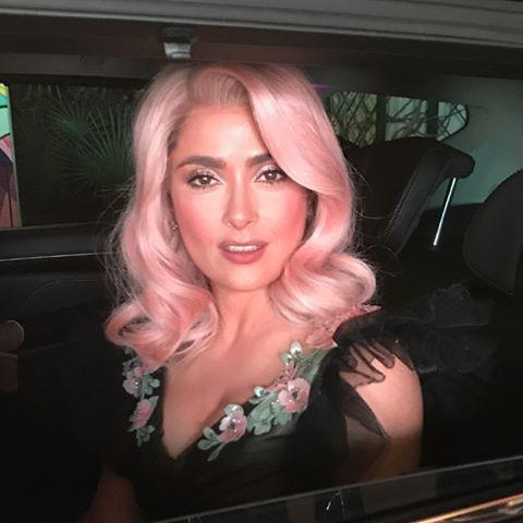 "<p>Is there anything Salma Hayek can't do? No. Case and point - nailing this bubblegum pink shade. </p><p><a href=""https://www.instagram.com/p/BUXmSaJh0_W/?utm_source=ig_embed&utm_campaign=loading"">See the original post on Instagram</a></p>"