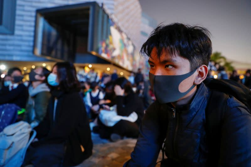 Anti-government protest in Hong Kong