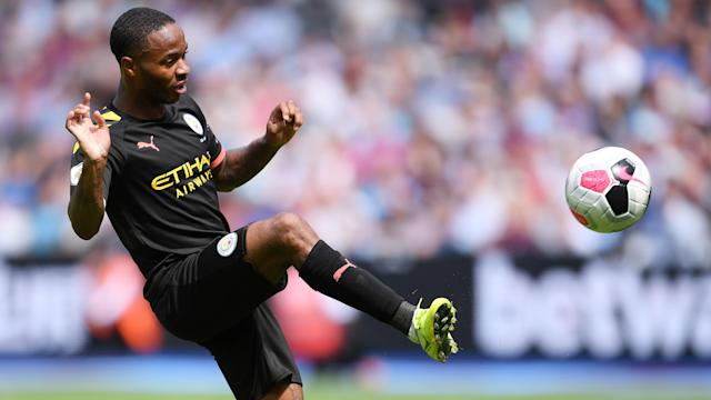 Raheem Sterling's hat trick for Manchester City v. West Ham United