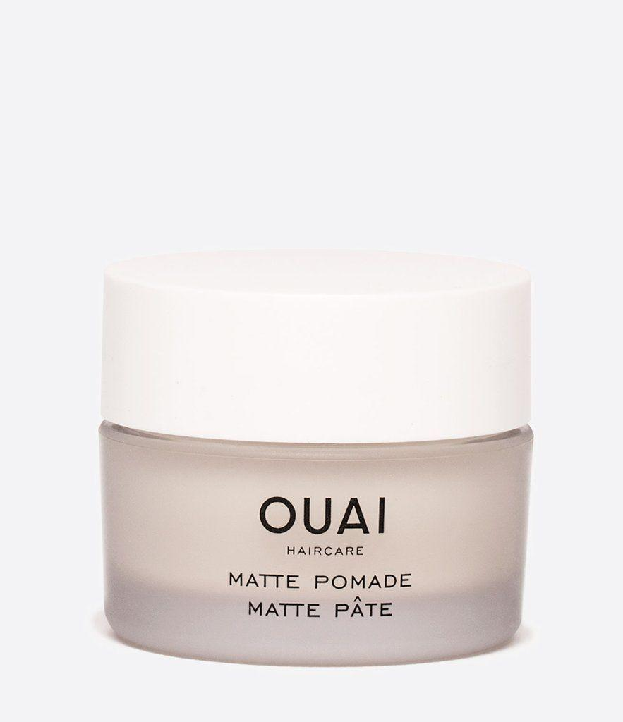 """<p><strong>OUAI</strong></p><p>sephora.com</p><p><strong>$24.00</strong></p><p><a href=""""https://fave.co/2TV09ut"""" rel=""""nofollow noopener"""" target=""""_blank"""" data-ylk=""""slk:SHOP NOW"""" class=""""link rapid-noclick-resp"""">SHOP NOW</a></p><p>Style shorter hair without making it <em>look</em> too styled. This matte pomade is invisible but somehow adds imperceptible handsomeness.</p>"""