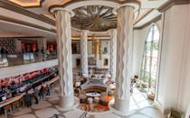 """<p>Though the entire resort was recently refurbished, it's the <a href=""""https://disneyparks.disney.go.com/blog/2019/07/grand-destino-tower-opens-at-disneys-coronado-springs-resort/"""" rel=""""nofollow noopener"""" target=""""_blank"""" data-ylk=""""slk:Gran Destino Tower at Disney's Coronado Springs Resort"""" class=""""link rapid-noclick-resp"""">Gran Destino Tower at Disney's Coronado Springs Resort</a> that deserves top marks for offering a top-tier experience while being well <a href=""""https://disneyworld.disney.go.com/en_CA/resorts/coronado-springs-resort/"""" rel=""""nofollow noopener"""" target=""""_blank"""" data-ylk=""""slk:within Disney's moderate price point"""" class=""""link rapid-noclick-resp"""">within Disney's moderate price point</a>. With sleek bathrooms and modern furnishings intended for business travelers, the tower rooms are also ideal for families who prefer stylish digs over character theming, along with a super-sleek lobby and somewhat of a view. Quick-service and upscale dining options as well as an imaginative pool <a href=""""https://disneyworld.disney.go.com/en_CA/recreation/coronado-springs-resort/pools-coronado-springs-resort/"""" rel=""""nofollow noopener"""" target=""""_blank"""" data-ylk=""""slk:modeled after Mayan ruins"""" class=""""link rapid-noclick-resp"""">modeled after Mayan ruins</a> make it a reliable choice for families looking for a little something special.</p>"""