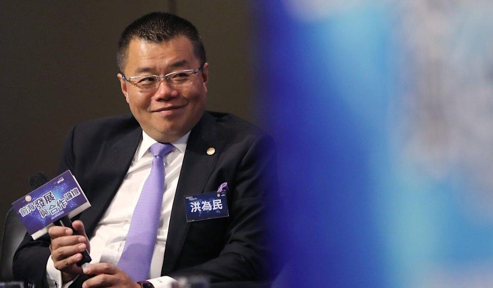 Witman Hung Wai-man, principal liaison officer for Hong Kong at the Shenzhen Qianhai Authority, expects the upcoming wealth management connect to boost the free trade zone. Photo: Edward Wong