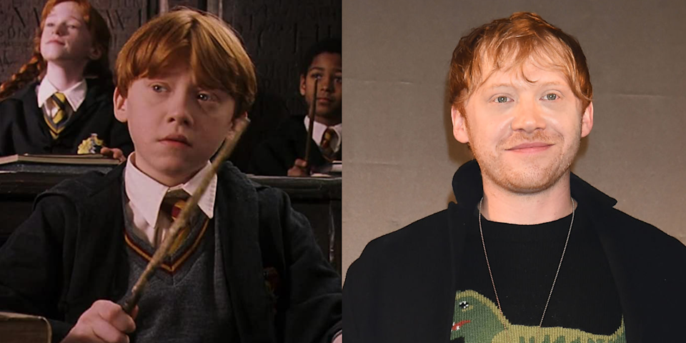 <p><strong>First Film: </strong><em>Harry Potter and the Sorcerer's Stone</em></p><p><strong>C</strong><strong>haracter Played: </strong>Ron Weasley</p><p><strong><strong>Age: </strong></strong>31</p><p>In April, Potterheads were blessed with the much-appreciated good news that Grint and his longtime girlfriend, actress Georgia Groome, were expecting their first child. The actor currently stars in Apple TV+ series, <em>Servant</em>.<strong><br></strong></p>