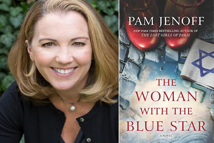 "<p>""I'm currently captivated by Pam Jenoff's heart-wrenching new WWII novel <em>The Woman With the Blue Star</em>. It tells the story of Sadie, a young woman hiding with her mother in the sewers of Krakow, Poland, after the Nazis liquidate her ghetto. When Ella, an affluent Polish girl, glimpses her underneath the sewer grate one day, an unlikely friendship forms between the two women. Based on harrowing true stories, this is a novel about the power of female friendships and the incredible strength of the human spirit to persevere in the darkest of times. Jenoff's' meticulous historical details and beautifully drawn characters will enchant her many fans, and no doubt gain her many new ones."" — Jane Healey, author of <em>The Secret Stealers</em></p>"
