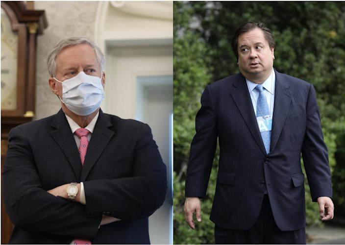 Mark Meadows and George Conway