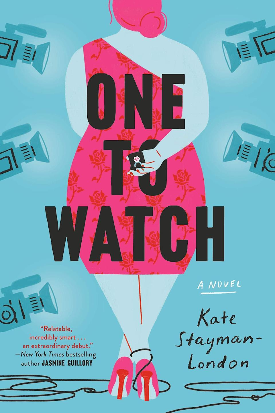 <p>If your friend is a big <strong>Bachelorette</strong> fan and hasn't read this book yet, remedy that situation immediately. Bea Schumacher is a curvy fashion blogger who lands an opportunity to be the star of a hit dating reality show in <span><strong>One to Watch</strong> by Kate Stayman-London</span> ($11). She's convinced she won't find love on TV, but things take a turn when she meets, and actually starts falling for, her suitors.</p> <p>This is basically like watching a (very dramatic) season of the <strong>Bachelorette</strong> unfold, except in book format. It's a fun and fresh premise, with multiple love interests to root for, a cool (fictional) look into the production side, and a lovable leading lady who also happens to be a curvy fashion blogger.</p>