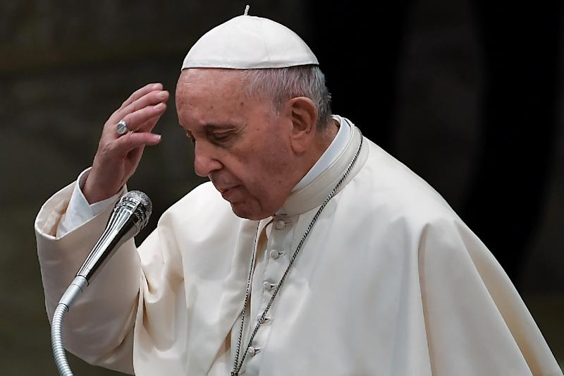 Pope Francis, pictured August 22, 2018, is due to arrive in Ireland for a historic two-day visit, but the Vatican's chief spokesman suggested that the pontiff would not be announcing specific measures to remedy the sexual abuse scandal
