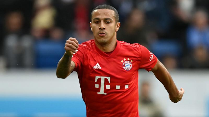 Liverpool, Man Utd trying to drive down Bayern's Thiago asking price – Hoeness