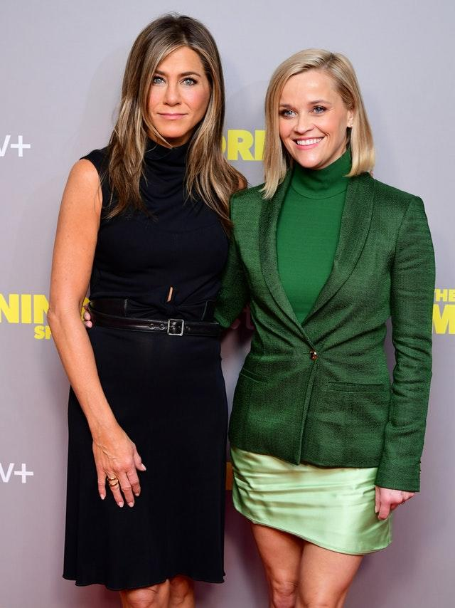 Jennifer Aniston and Reese Witherspoon star in an Apple show