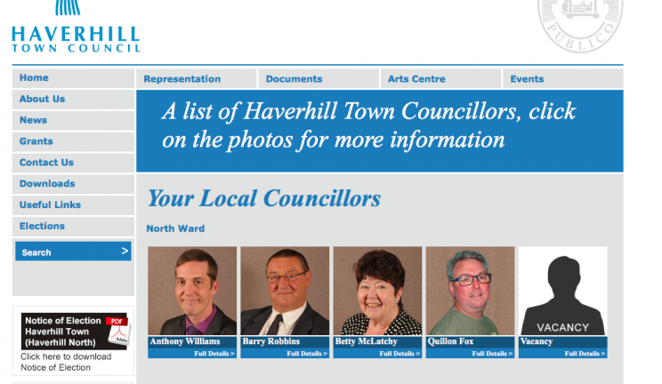 The Ukip candidate had been hoping to join the Haverhill Town Council line-up (Haverhill Town Council)