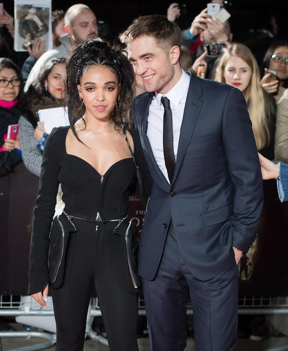 Celebrity couples like FKA Twigs and Robert Pattinson reportedly wear promise rings [Photo: Getty]