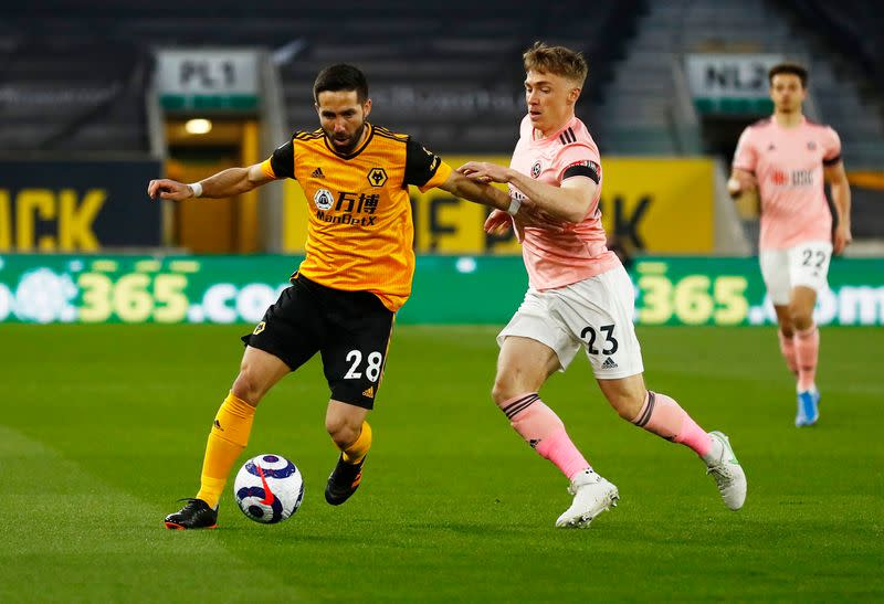 Premier League - Wolverhampton Wanderers v Sheffield United