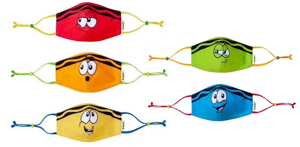 School days are covered with this mask pack. (Photo: Amazon)