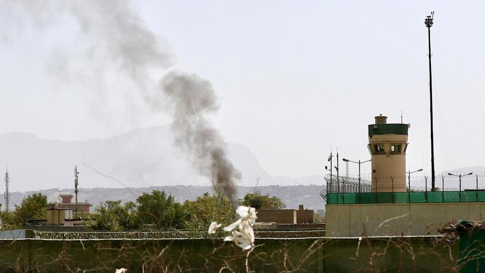 Rockets fired at Kabul airport, after US strikes car bomb