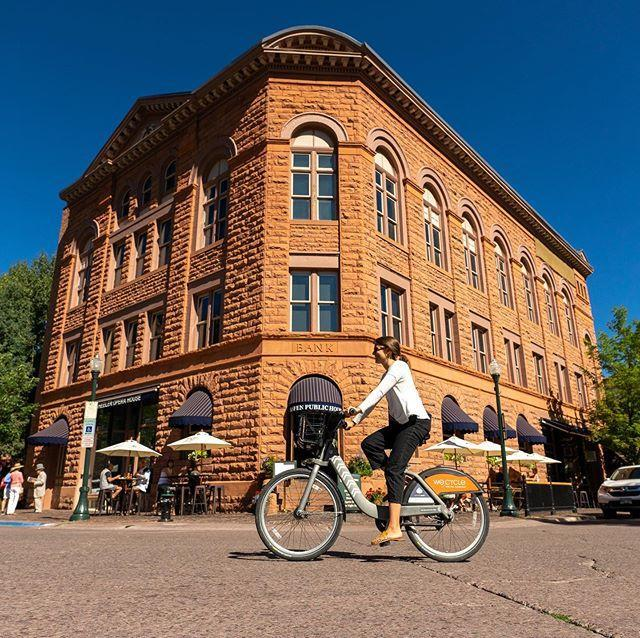 "<p>With most hotels offering free shuttle service from Aspen Pitkin County Airport (just four miles from town), most of Aspen's attractions are walkable or accessible by bike. Bike share by <a href=""https://www.we-cycle.org/map/aspen/"" rel=""nofollow noopener"" target=""_blank"" data-ylk=""slk:We-Cycle"" class=""link rapid-noclick-resp"">We-Cycle</a> is available throughout town, Snowmass, and Basalt across 45+ stations. Finally the <a href=""https://www.rfta.com/"" rel=""nofollow noopener"" target=""_blank"" data-ylk=""slk:Roaring Fork Transit Authority"" class=""link rapid-noclick-resp"">Roaring Fork Transit Authority</a> is one of the most user-friendly public transportation systems of any mountain town.</p><p><a href=""https://www.instagram.com/p/B2mQZOclPzJ/?utm_source=ig_embed&utm_campaign=loading"" rel=""nofollow noopener"" target=""_blank"" data-ylk=""slk:See the original post on Instagram"" class=""link rapid-noclick-resp"">See the original post on Instagram</a></p>"