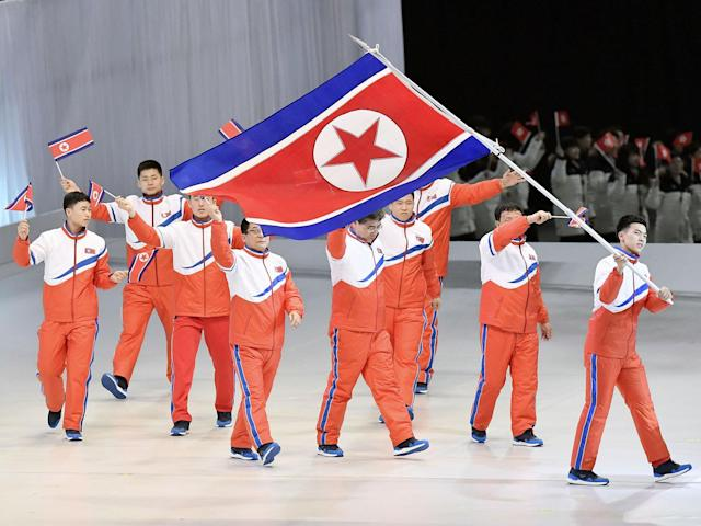 The North Korean Winter Olympics delegation will include 24 coaches and officials: Getty