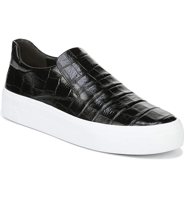 "<p><a href=""https://www.popsugar.com/buy/Via-Spiga-Velina-Slip--Platform-Sneakers-520369?p_name=Via%20Spiga%20Velina%20Slip-On%20Platform%20Sneakers&retailer=shop.nordstrom.com&pid=520369&price=135&evar1=fab%3Aus&evar9=44311634&evar98=https%3A%2F%2Fwww.popsugar.com%2Ffashion%2Fphoto-gallery%2F44311634%2Fimage%2F46920957%2FVia-Spiga-Velina-Slip-On-Platform-Sneakers&list1=shopping%2Cshoes%2Csneakers%2Choliday%2Cgift%20guide%2Ceditors%20pick%2Cfashion%20gifts%2Cgifts%20for%20women&prop13=api&pdata=1"" class=""link rapid-noclick-resp"" rel=""nofollow noopener"" target=""_blank"" data-ylk=""slk:Via Spiga Velina Slip-On Platform Sneakers"">Via Spiga Velina Slip-On Platform Sneakers</a> ($135, originally $225)</p> <p>""I call this design a dressy sneaker, because they still look polished with a blazer or even trousers. The platform sole is very in right now and I love that it gives me a little height."" - Macy Cate Williams, editor, Shop and Must Have</p>"