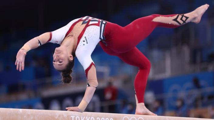 Olympics-Gymnastics-Germans opt for full-body suits to promote freedom of  choice