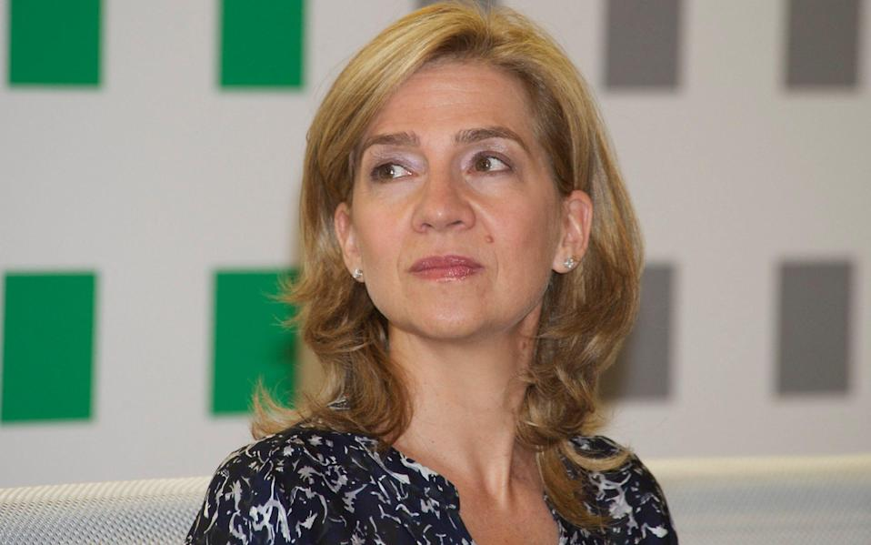 Princess Cristina of Spain received a Covid vaccine in the UAE - Carlos Alvarez /Getty Images
