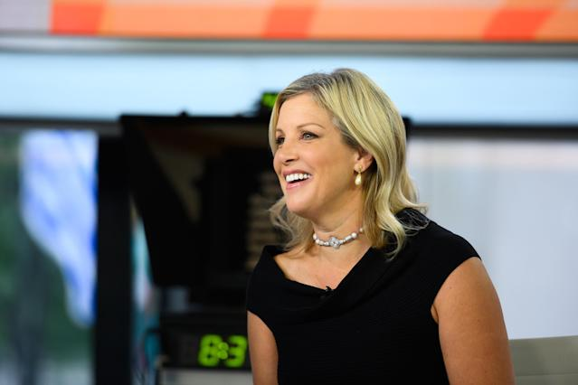 News reader Kristen Dahlgren was diagnosed with breast cancer in September. [Photo: Getty]