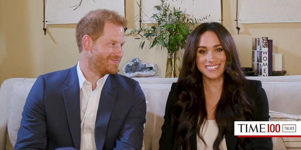Meghan Markle and Prince Harry Share a Peek at Their Book Collection