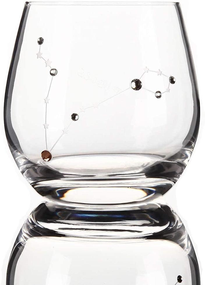 <p>This <span>Zodiac Pisces Sign Wine Glass</span> ($30) is beyond cool.</p>