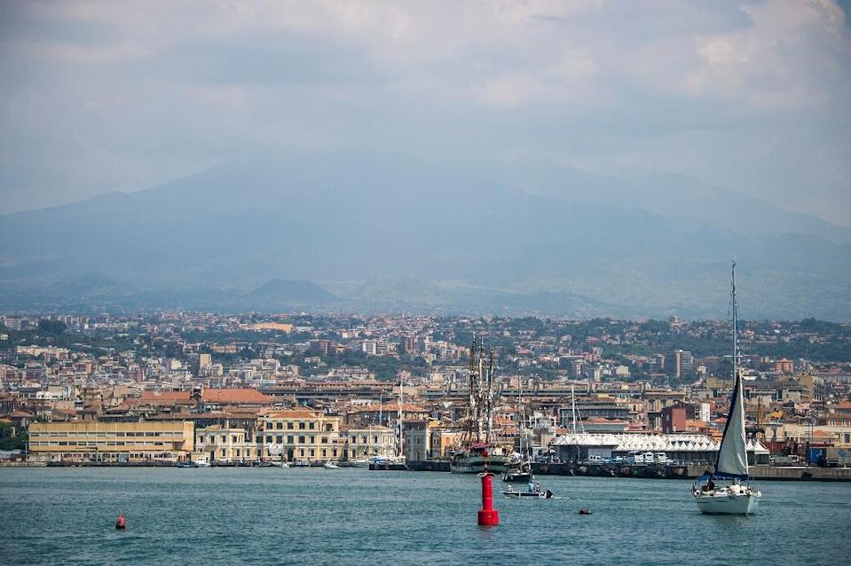 Italy's ANSBC agency was set up to manage seized mafia property, including a sprawling beach resort in the Sicilian town of Catania (AFP Photo/Odd Andersen)