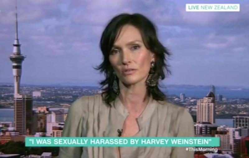 The Aussie model recounted the events on UK chat show This Morning. Source: This Morning / ITV