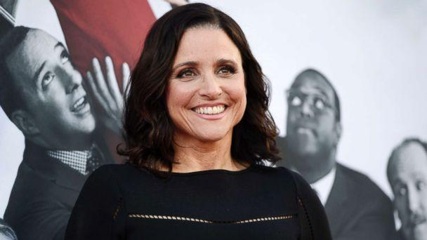 PHOTO: In this May 25, 2017, file photo, Julia Louis-Dreyfus, a cast member in the HBO series 'Veep,' poses at an Emmy For Your Consideration event for the show at the Television Academy in Los Angeles. (Chris Pizzello/Invision/AP)