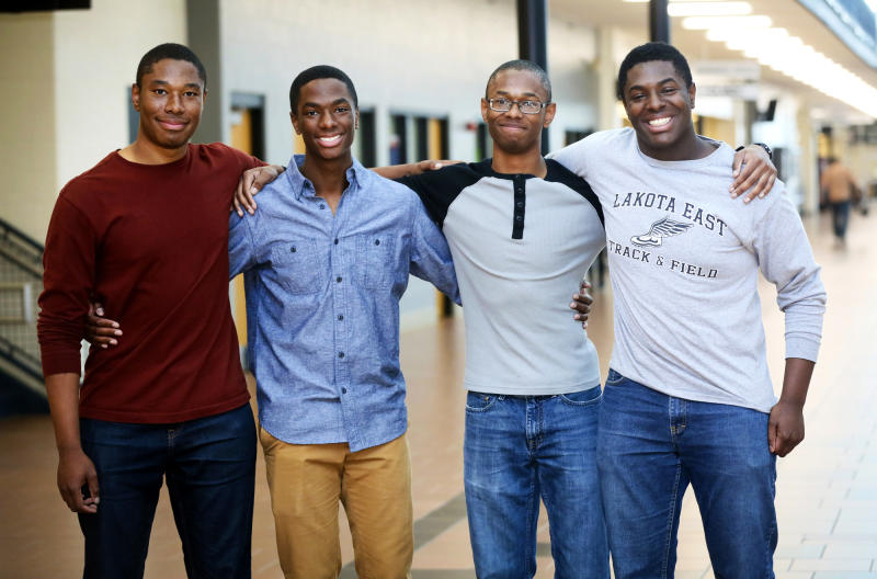 This Set of Quadruplet Brothers Were All Accepted to Ivy League Colleges