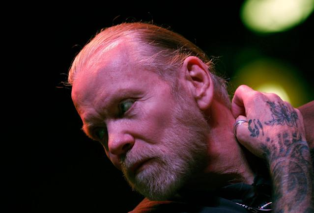 <p>Musician Gregg Allman of The Allman Brothers Band attends a news conference to announce a concert run by his band at New York's Beacon Theatre November 22, 2010. The eight concerts will run from March 10 through March 19, 2011. (Mike Segar/Reuters) </p>